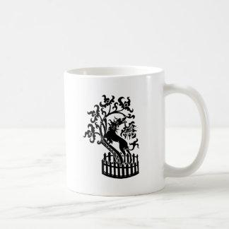 Hund und Baum Teetasse