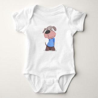 Hündchen-Entwurf Baby Strampler
