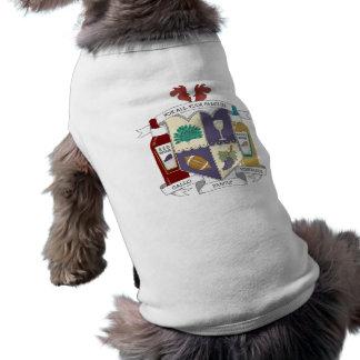 Hündchen-gewelltes Trägershirt Shirt