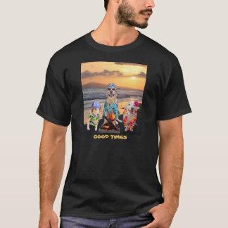 Hunde auf dem Strand T-Shirt