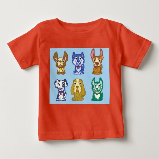 Hunde Baby T-shirt