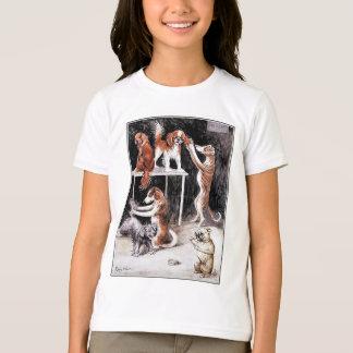 Hunde, die Hunde pflegen T-Shirt