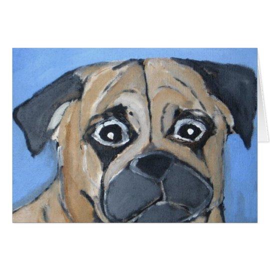 Hunde durch Eric ginsburg Grußkarte