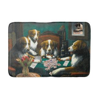 Hunde Milliamperestunde Jongg, die Bad-Matte Badematte