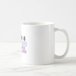 Hunde sind niedlicher kaffeetasse