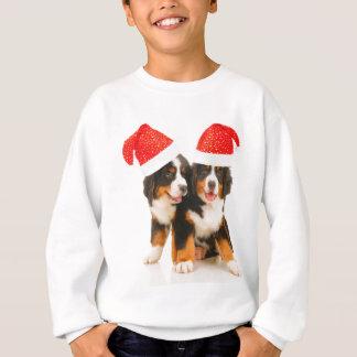 Hunde wünschen ein fröhliches Crhistmas Sweatshirt