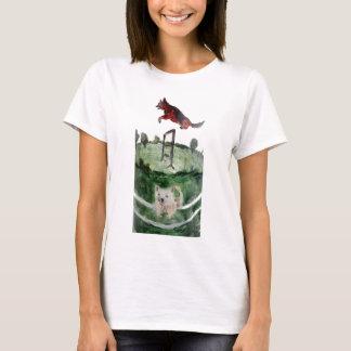 HundeAgility-Malerei T-Shirt