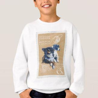 HundeBriefmarke Sweatshirt