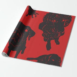 Hundeführer-Packpapier Geschenkpapier