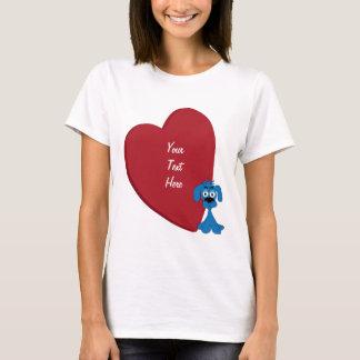Hundeherz (personalisiert) T-Shirt