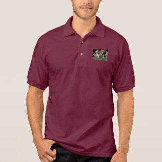 Hundeknochen-Billard Polo Shirt