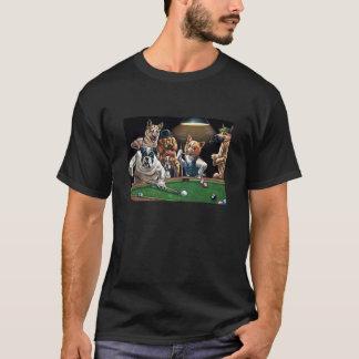 Hundeknochen-Billard T-Shirt
