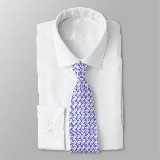 Hundeknochen u. Tatzen-Krawatte Bedruckte Krawatten