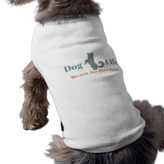 Hundeleben-Hundet-stück Ärmelfreies Hunde-Shirt