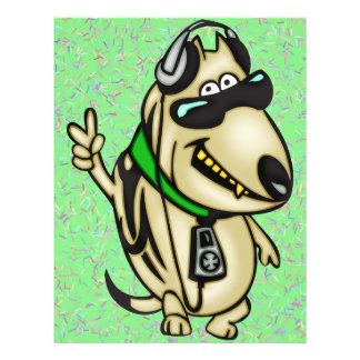 HundeLiebe-Musik 21,6 X 27,9 Cm Flyer