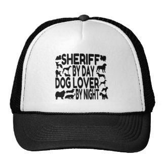 Hundeliebhaber-Sheriff Retromütze