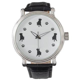 Hundeliebhaber Uhren
