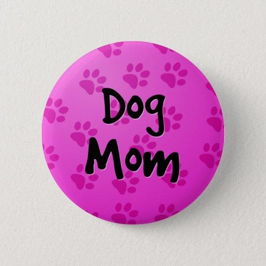 Hundemamma Runder Button 5,1 Cm