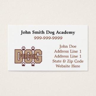Hundepersonen-Visitenkarten Visitenkarte