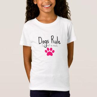 Hunderegel-Rosatatze T-Shirt