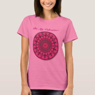 Hunderte von den Herzen (Rosa) T-Shirt