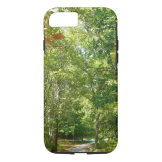 Hundertjährige bewaldete Stadt-Natur des Weg-I iPhone 8/7 Hülle