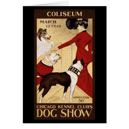 Hundeshow des Chicago-Hundehütten-Vereins Karte