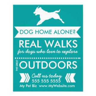 Hundewanderer-Flyer - Personalizable