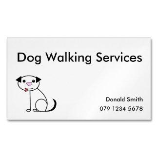Hundewanderer-Visitenkarte Magnetische Visitenkarten