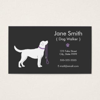 Hundewanderer-Visitenkarte Visitenkarte