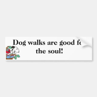 Hundewege sind- für das Soul gut! Aufkleber Autoaufkleber