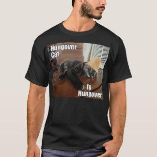 Hungover Katze T-Shirt