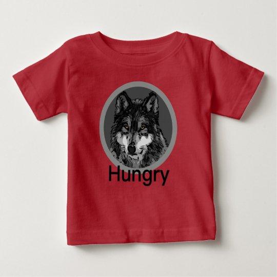 Hungrig - Baby-feiner Jersey-T - Shirt