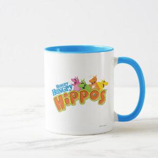 Hungrige hungrige Flusspferde Tasse