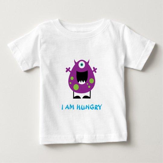 Hungriges Monstert-shirt Baby T-shirt