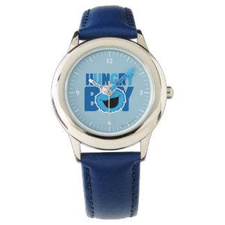 Hungriges Plätzchen-Monster Armbanduhr