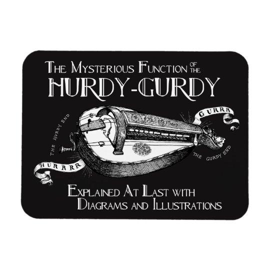 Hurdy-Gurdymagnet Magnet