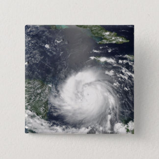 Hurrikan Felix 2 Quadratischer Button 5,1 Cm