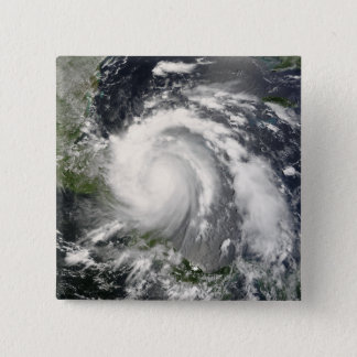 Hurrikan Felix 3 Quadratischer Button 5,1 Cm