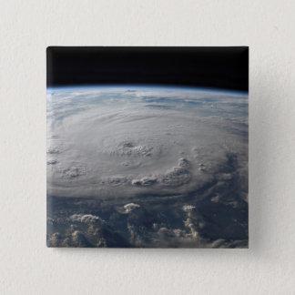 Hurrikan Felix 4 Quadratischer Button 5,1 Cm