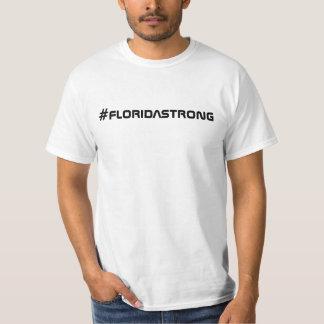 Hurrikan-Irma #FLORIDASTRONG Raum-Schriftart-Shirt