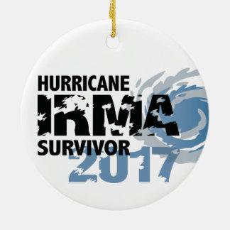 Hurrikan-Irma-Überlebender Florida 2017 Keramik Ornament