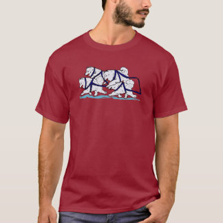 Huskytoons Samoyed-Team T-Shirt