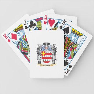 Hussey Wappen - Familienwappen Poker Karten