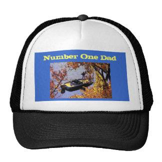 Hut des Vatertags-(Fischen) Trucker Kappe