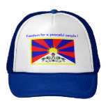Hut - Freiheit für friedlichen Leute! Kult Mützen
