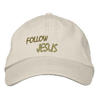 HUT-GEWOHNHEIT GESTICKTER ENTWURF JESUS BESTICKTE BASEBALLKAPPE