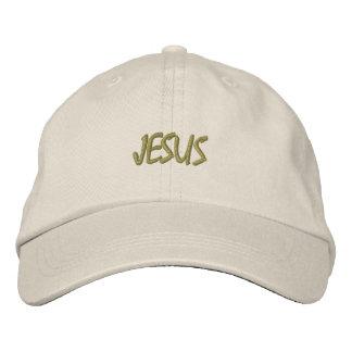 HUT-GEWOHNHEIT GESTICKTER ENTWURF JESUS BESTICKTE KAPPE