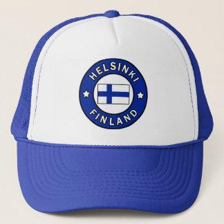Hut Helsinkis Finnland Truckerkappe