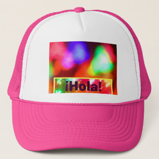 Hut - ¡ Hola! - Abstracto Mehrfarben Truckerkappe